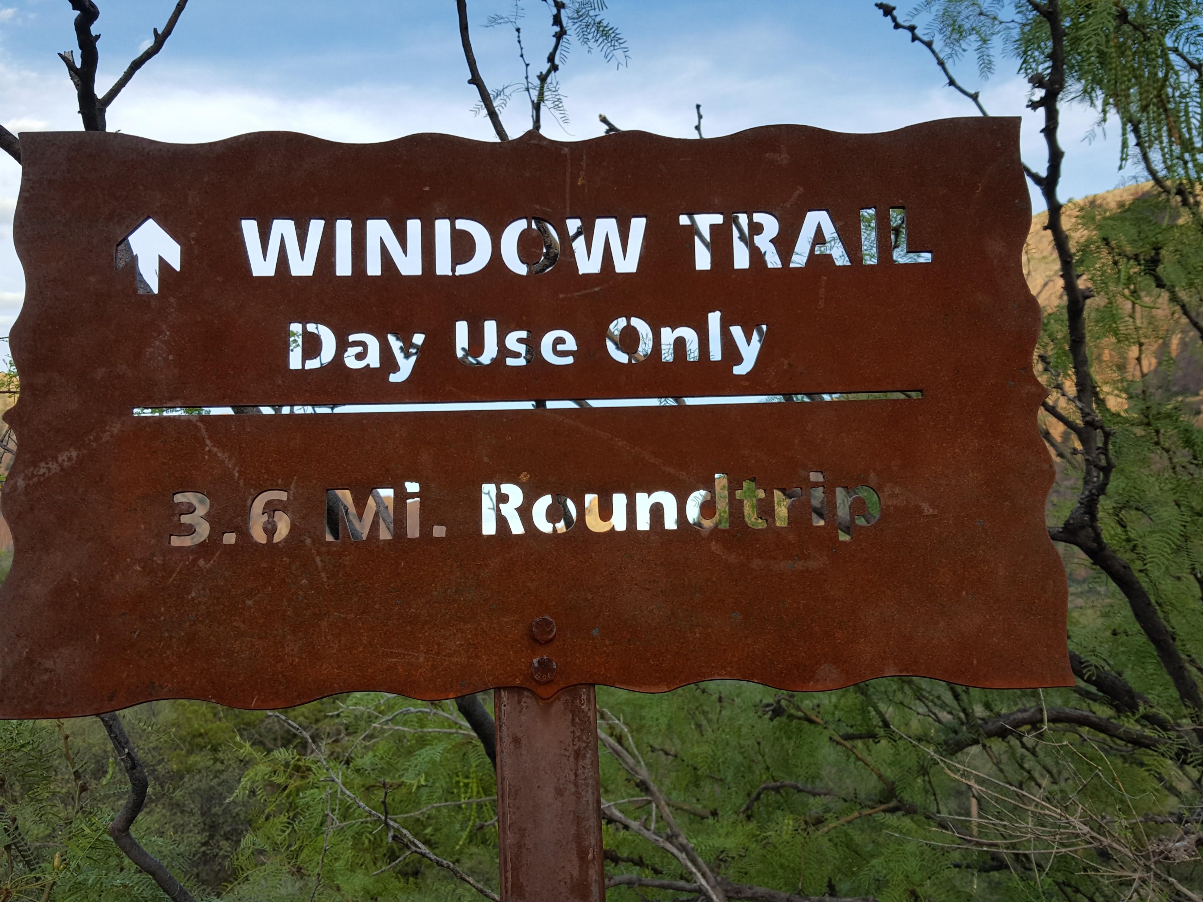 The Window Trail, Big Bend