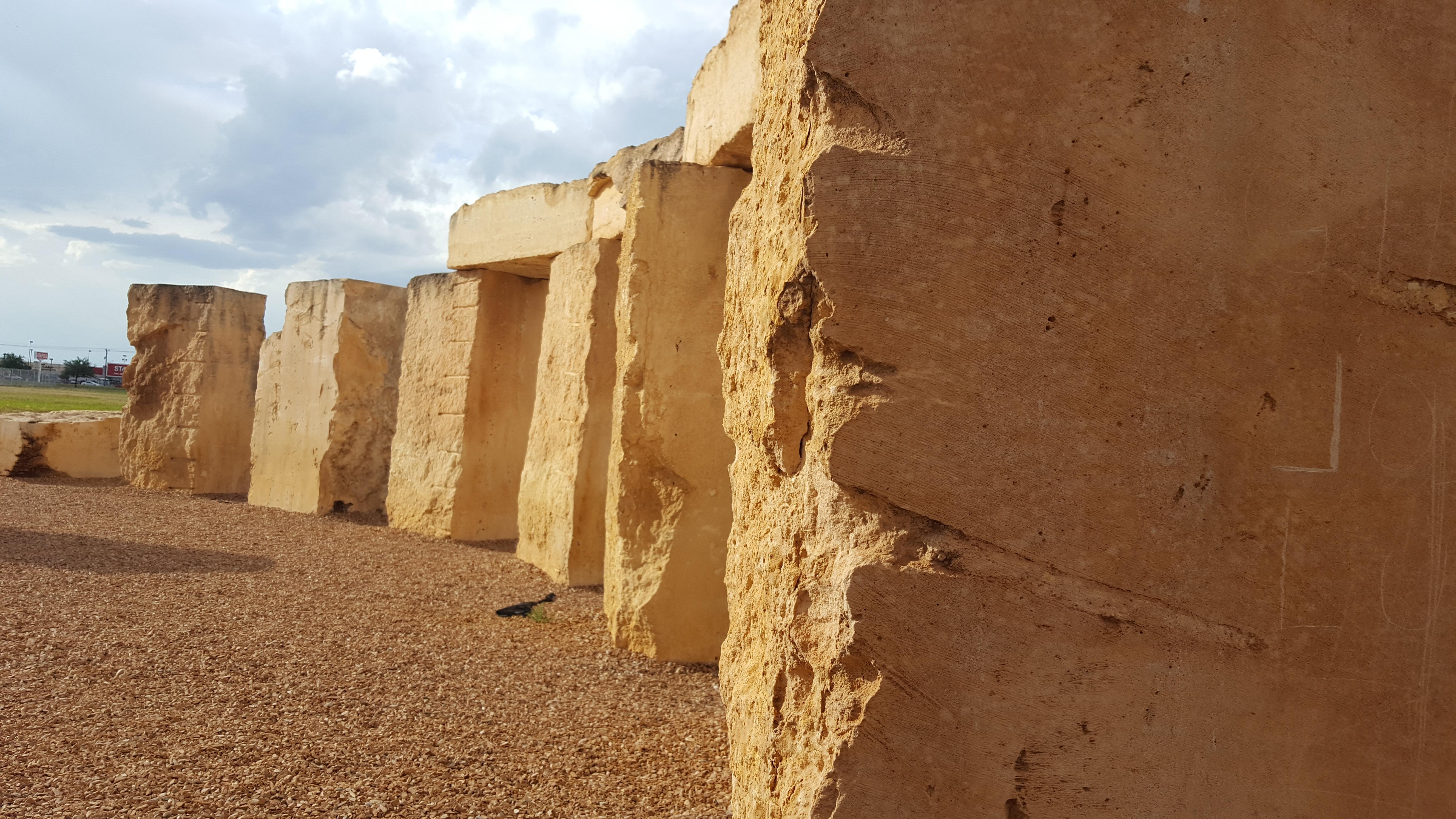 UT Permian Basin Stonehenge