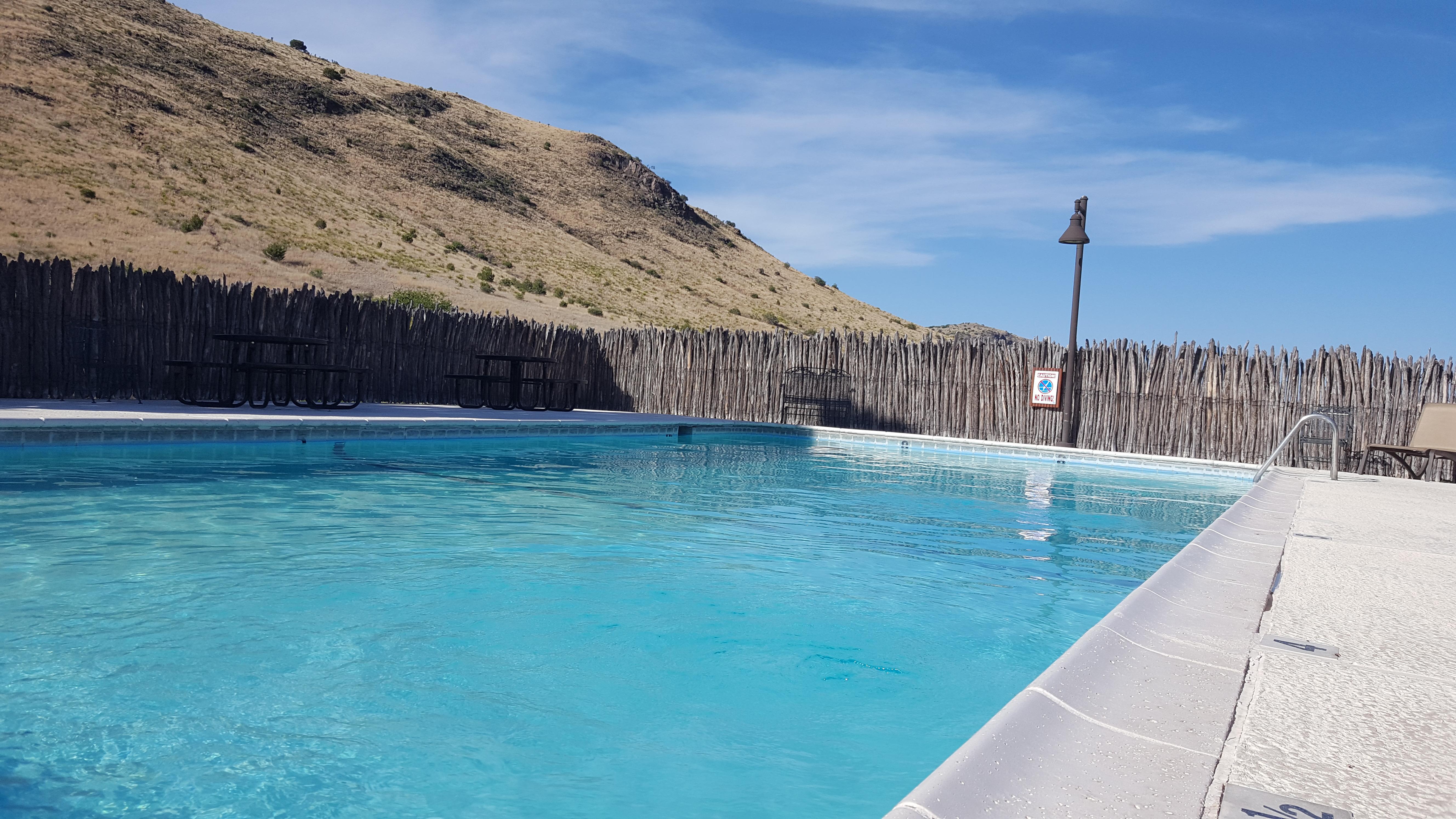 Indian Lodge Davis Mountains Pool