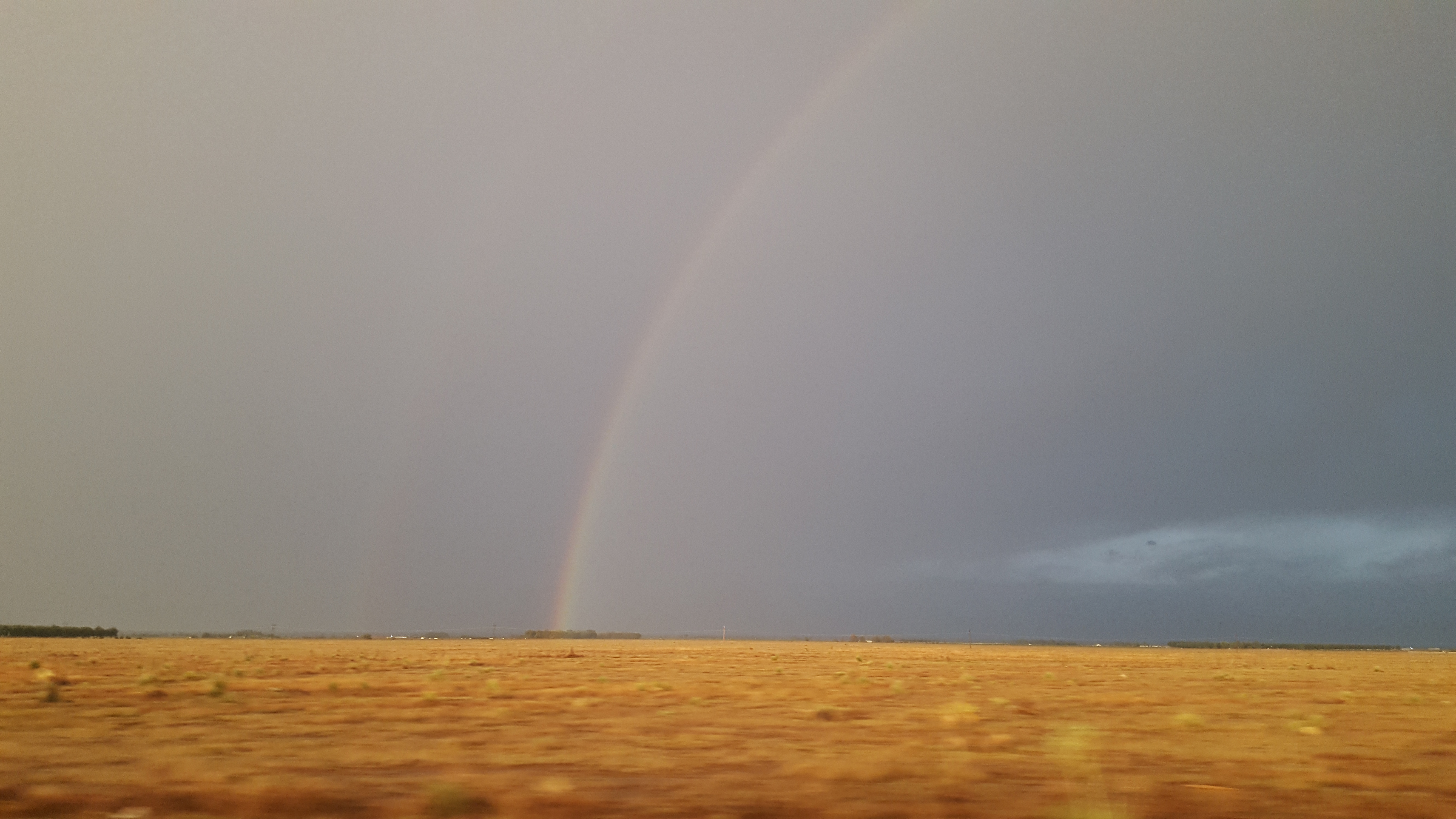 Double rainbow, Roswell