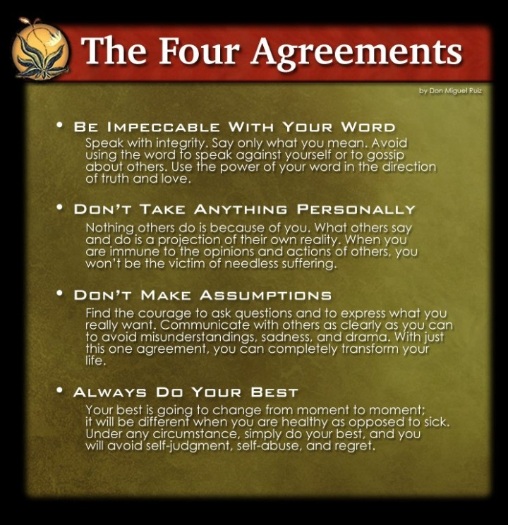 The Four Agreements – Essential Learning for Life